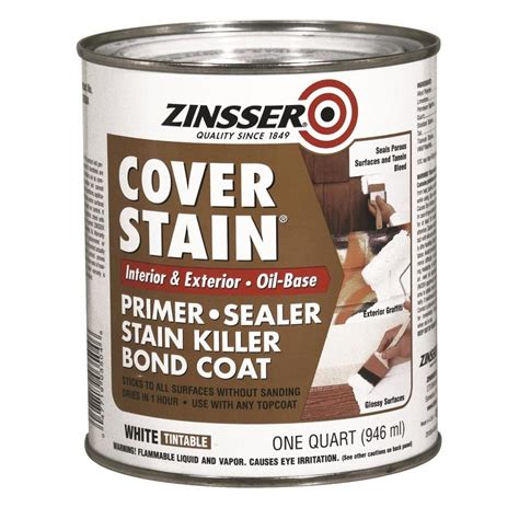 Zinsser Ceiling Paint Review by Shop Zinsser Cover Stain Interior Primer Actual Net