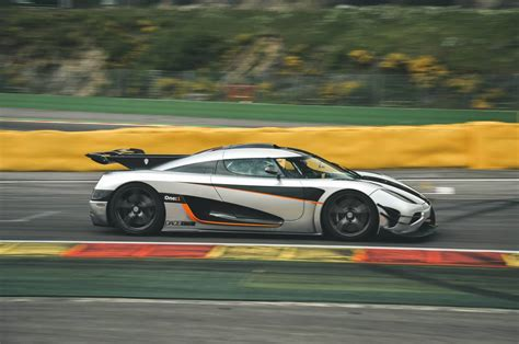 blue koenigsegg one 1 koenigsegg one 1 out to beat porsche 918 s time at the