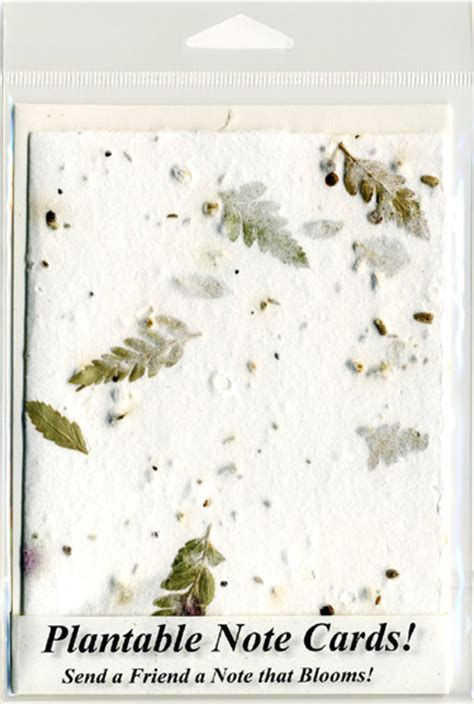 How To Make Flower Seed Paper - handmade note cards pressed flower petals and seeds in