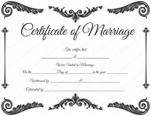 printable marriage certificate template royal corner marriage certificate template dotxes