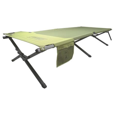 coleman pack away cot with side table coleman 174 trailhead cot w side table target