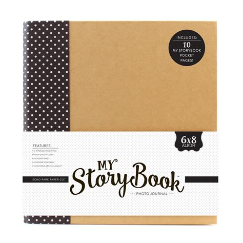 6x8 Photo Album My Storybook Products Echo Park Paper Co