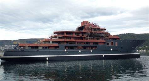 u21 boat anonymous billionaire shows up at kleven verft to witness