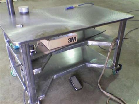 welding bench ideas diy welding table and cart ideas