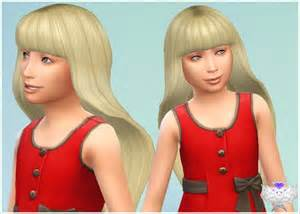 childs hairstyles sims 4 barbie hair for child at david sims 187 sims 4 updates