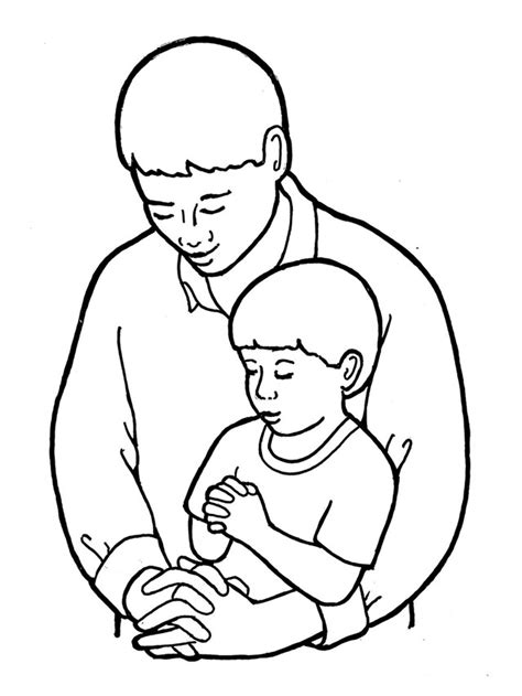 free our father prayer coloring pages