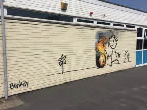 students rename school house after banksy banksy shows up