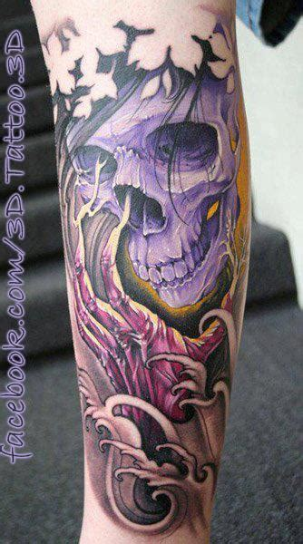 japanese skull tattoo 3d tattoos and designs page 162