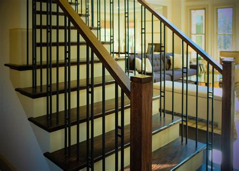 adding the right style wooden and metal balusters