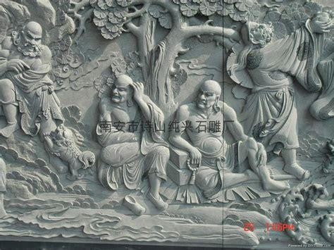 Wall Murals Diy eighteen stone relief mural bluestone sd 1124 sd 1124
