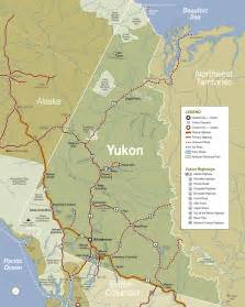 yukon maps travel columbia