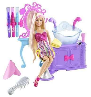 $5 barbie toy coupon | barbie hairtastic color set, $19.99