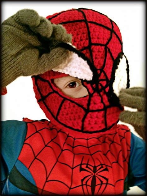 spiderman mask pattern free spiderman crochet mask mellie blossom