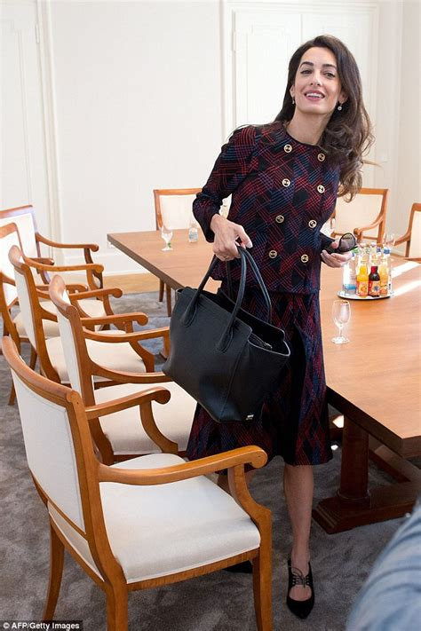 Amel Maroon george clooney amal worn 163 34 000 of clothes while
