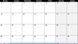 Fill In Calendar Template by Easy Fill In Calendar Calendar Template 2016