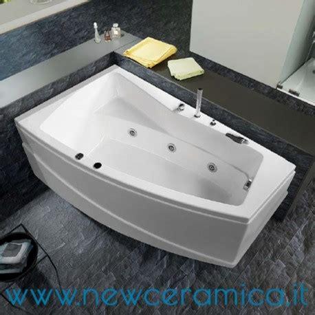 vasca idromassaggio asimmetrica vasca idromassaggio asimmetrica greta 170x100x55 relax design
