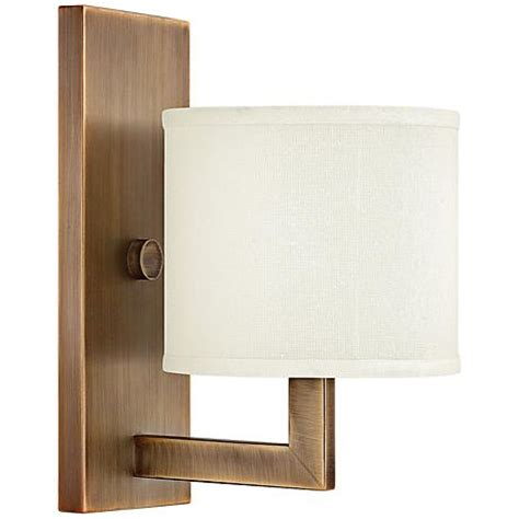 Small Wall Sconces Hinkley Hton 12 Quot High Small Brushed Bronze Wall Sconce