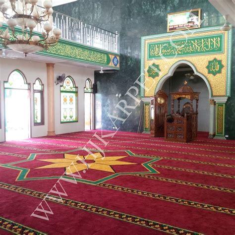 Karpet Masjid Standar karpet masjid jami ar rahman kelapa gading jakarta