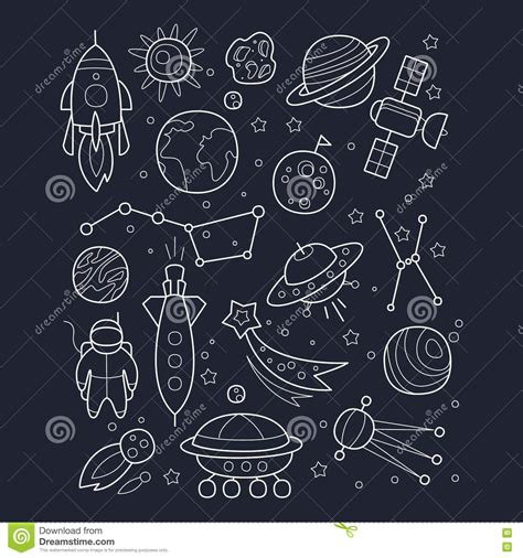 cartoon wallpaper black and white space and cosmic objects black white wallpaper stock