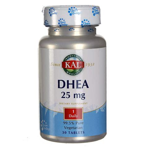 Vitamin Nutrisi Dhea 25mg 100 Capsul kal dhea 25 mg 30 tablets evitamins