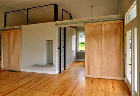 Loft photos sliding door