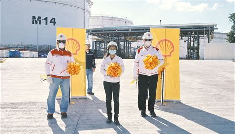 shell expands business opens import facility  subic