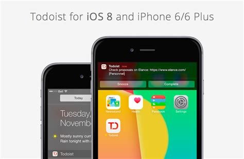 Gifts For Iphone Owners Plus Giveaway by Todoist Iphone Gets Ios 8 Update Plus Iphone 6 Giveaway
