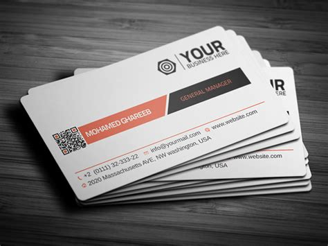 business card template psd 55 best psd business card templates designbump
