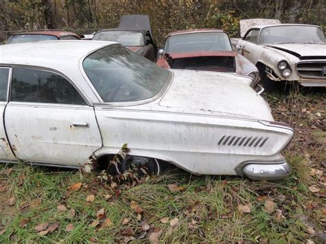 Field Chrysler by Neglected Field Find Five 1962 Chryslers Mopar