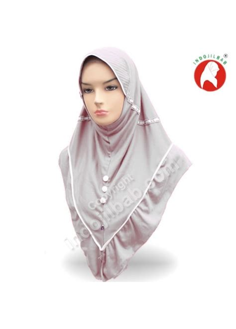 Jilbab Rabbani Innova Jual Rabbani New Innova Abu Abu 001 Harga Dan Review
