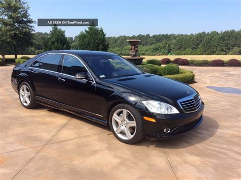 Mercedes S550 2007 by 2007 Mercedes S550 Base Sedan 4 Door 5 5l