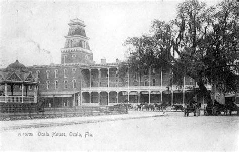 Ocala Florida Records Florida Memory Ocala House Hotel Ocala Florida