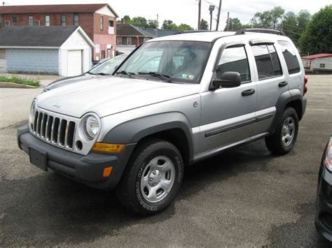 Jeep Liberty Houston 2006 Jeep Liberty Sport 4dr Suv 4wd In Houston Pa Arnold