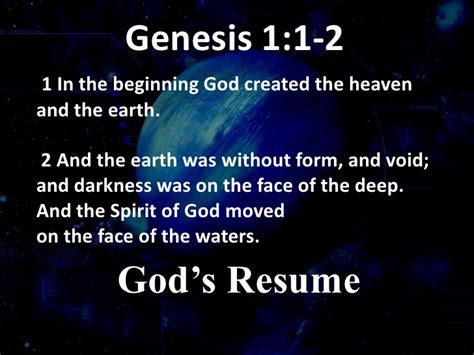 genesis 1 the message genesis 1 basic principles