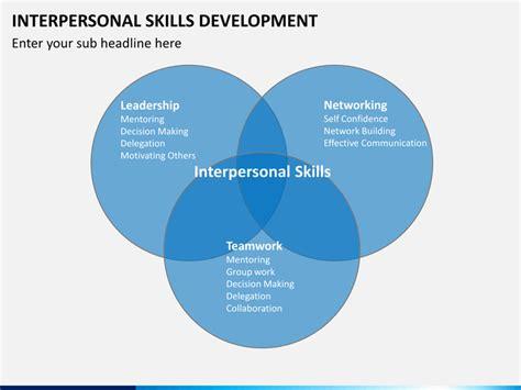 interpersonal skills development powerpoint template sketchbubble