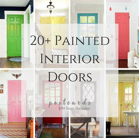 colored interior doors 22 gorgeous painted interior doors that aren t white