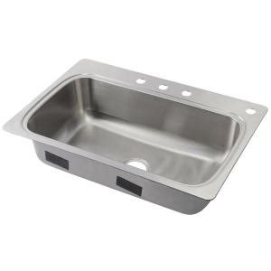 kohler kitchen sinks home depot kohler verse drop in stainless steel 33 in 4 single