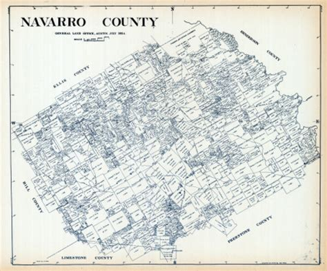 navarro texas map texas 1924 navarro county stock illustration 114356291 getty images
