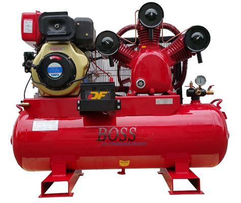 diesel air compressors 42cfm 10hp diesel powered compressor 160l tank