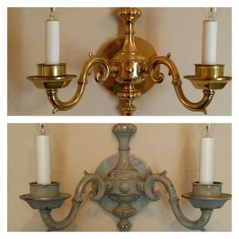 How To Make A Sconce Light Fixture by 1000 Ideas About Light Fixture Makeover On