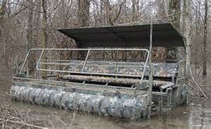 Easy Duck Blind Top Boat Blinds For Waterfowl Hunters