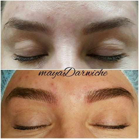 tattoo eyebrows 3d the 25 best eyebrow feathering ideas on