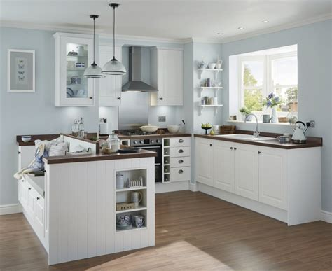 tongue and groove kitchen cabinets burford tongue groove white kitchen shaker kitchens howdens joinery