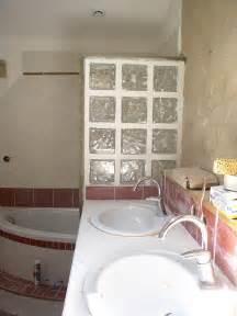 les carreaux de verre photo de la salle de bain 231 a