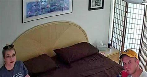 hidden bedroom cams couple finds hidden camera in bedroom of airbnb home ny daily news