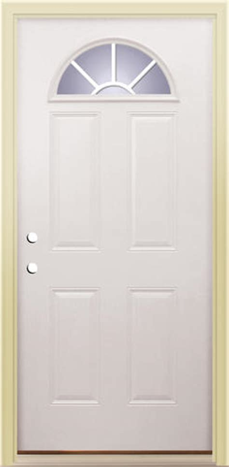 Menards Mastercraft Exterior Doors Menards Front Door 198 00 Mastercraft E 660 Embossed 36 Quot X 80 Quot Steel Half Moon Prehung