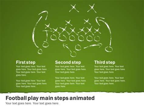 Football Playbook A Powerpoint Template From Powerpoint Playbook