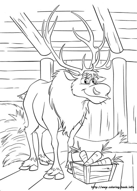 coloring pages frozen sven free frozen printable coloring activity pages plus free