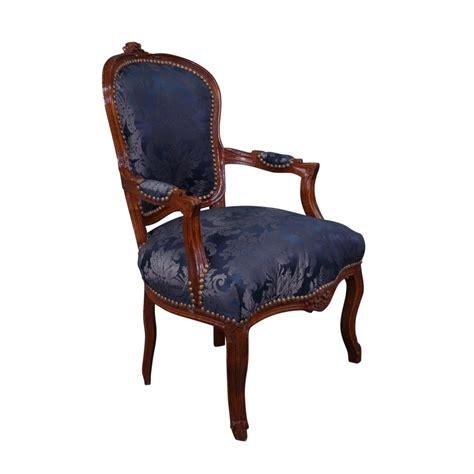 louis xv fauteuil louis xv bleu