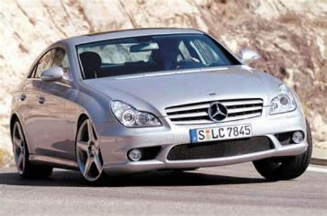 Mercedes Cls55 Amg by Mercedes Cls 55 Amg Review Autocar